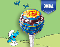 Chupa Chups & Smurfs - Facebook Campaign