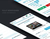 Mobile website for heureka.cz