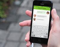 Whatsapp concept iOs7