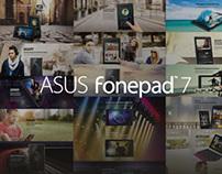 ASUS fonepad 7 Website Design