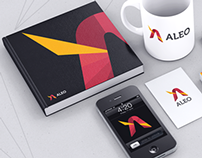ALEO Website and Corporate Branding / Identity