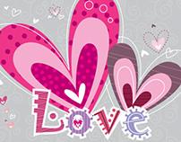 Love / cartão