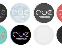 CUE Pittsburgh Magazine Logo Redesign