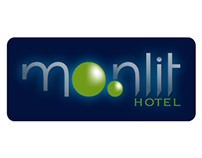 Identité visuelle Moonlit Hotel