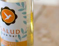 Salud Spa Bar Identity