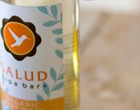 Salud Spa Bar Identity