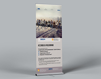 Inail - Rollbanner