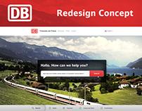 DEUTSCHE BAHN – Redesign