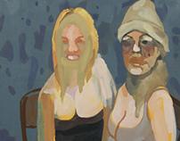 Spring 2013 Paintings