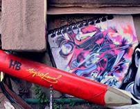 Streetart by Tigrohaud crew
