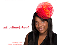 Rack Card Designs for HATS Trunk Shows