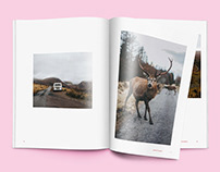 Roadtrip Magazine Design