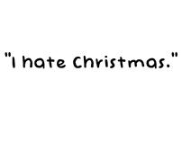 bizzare christmas.