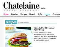 Chatelaine Magazine Responsive Site Redesign