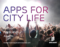Ericsson Apps For City Life Banner Ads