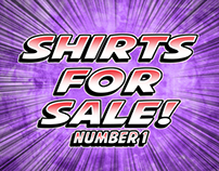 SHIRTS FOR SALE! number 1