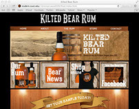 Kilted Bear Rum Website