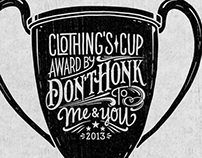 Cup Illustration & Lettering x Don't Honk
