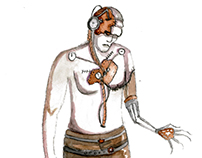 "Conceptual Costume Design for ""Frankenstein"""