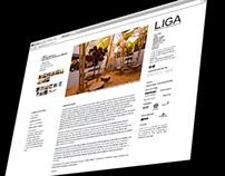 Liga website