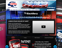 Capital FM with Blackberry