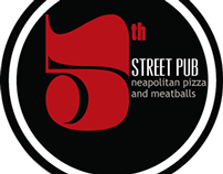 Brand Identity/Logo for 5th Street Pub