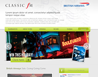 Classic FM and British Airways