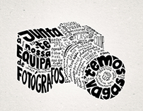 Typographic poster . FEUP
