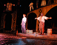 "Lead Scenic Artist for ""Big River"""