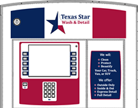 Texas Star Wash & Detail Paystation Decal