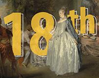 Fashion Timeline.18-th century