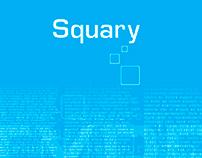 Squary Typography