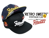 "Filter017 ""RETRO SWEETS"" VINTAGE CAP"