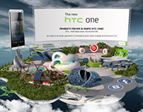 HTC One Promo Site