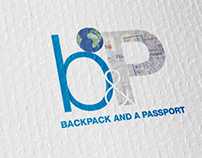 Backpack and a Passport logo