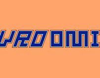 Vroomi Typeface