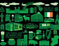 Paddy Murphy's Iconografía