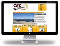 CRC Solar Website Design