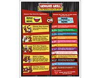 Genghis Grill Menu