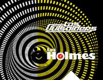 Flyer Concierto La Noche Barranco - Los Holmes