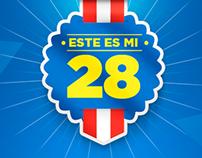 Campaña: Este es mi 28 - Inca kola