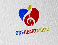 One Heart Music logo
