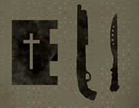 Book of Eli - Minimalistic Poster