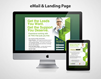 AHCP email & landing page