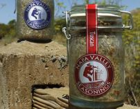 Napa Valley Seasonings Packaging, 2000