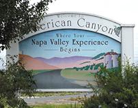 American Canyon City Entrance Sign, 1999