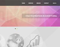 Evscon Website Layout
