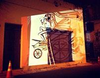 Projeções - Grafite Projeto R.U.A.