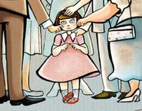 """Comic for """"ASL Milano"""", Pomme's box"""