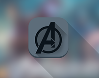 SuperHero Groups Identity Icons